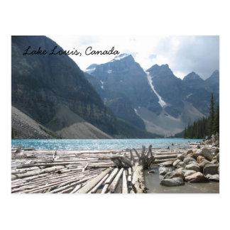Lac Louis, carte postale du Canada