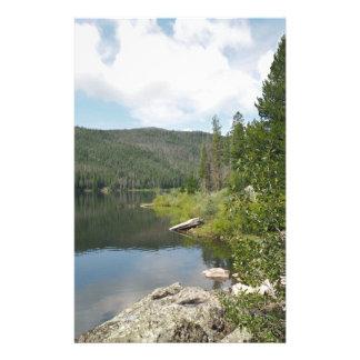 Lac monarch dans le Colorado Papeterie