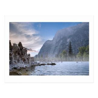 Lac mono carte postale