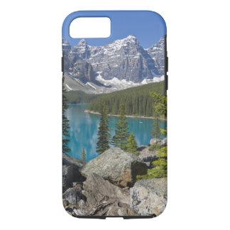 Lac moraine, Canadien les Rocheuses, Alberta, Coque iPhone 7
