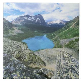 Lac O'Hara, Yoho NP, AVANT JÉSUS CHRIST, le Canada Grand Carreau Carré