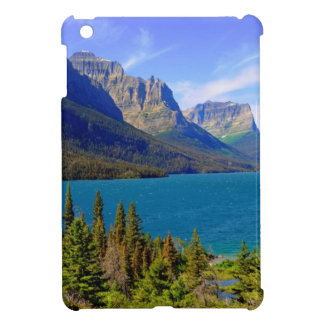 Lac st. Mary, parc national de glacier, Montana Coque iPad Mini