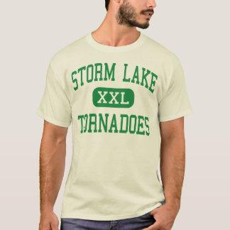 Lac storm - tornades - haut - lac Iowa storm