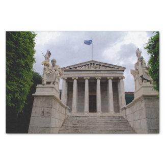 L'académie d'Athènes Papier Mousseline
