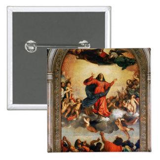 L'acceptation de la Vierge, 1516-18 Badge Carré 5 Cm