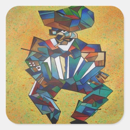 L'accordéoniste Autocollants