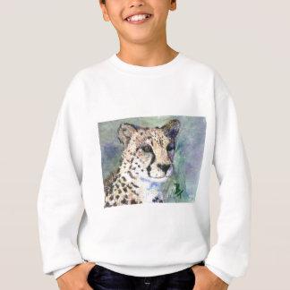 L'aceo de portrait de guépard badine le sweatshirt