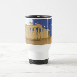 L'Acropole d'Athènes Mug De Voyage En Acier Inoxydable
