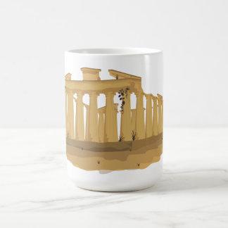 L'Acropole d'Athènes Mug Blanc