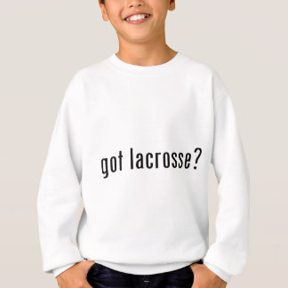 lacrosse obtenue ? sweatshirt