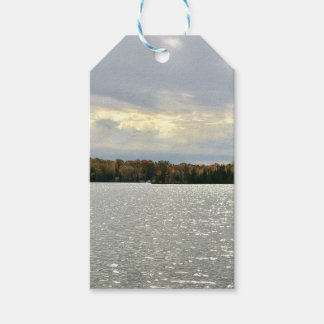 Lacs fortune, automnes en cristal, étiquettes de