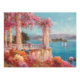 Lacs italiens magnifiques carte postale