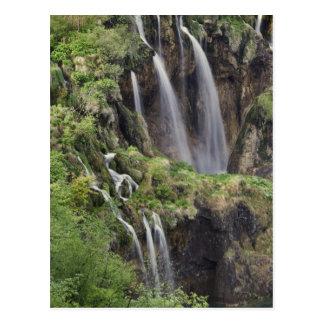 Lacs Plitvice de claque de Veliki (cascade) Carte Postale