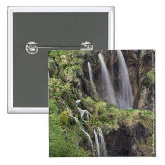 Lacs Plitvice de claque de Veliki (cascade) nation Badges