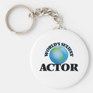 L'acteur le plus sexy du monde porte-clé rond