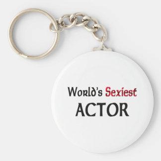 L'acteur le plus sexy du monde porte-clef