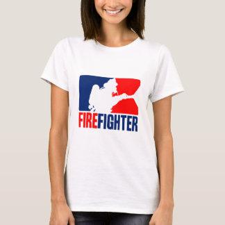L'action de sapeur-pompier t-shirt
