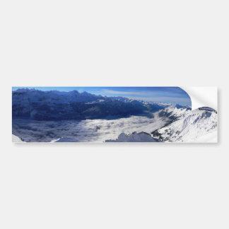 L'adhésif pour pare-chocs d'Alpes Autocollant Pour Voiture