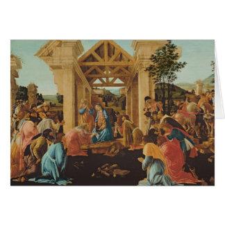 L'adoration des Magi, c.1478-82 Cartes