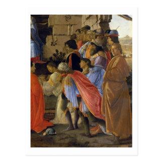 L'adoration des Magi, détail de dépeindre le sel Carte Postale