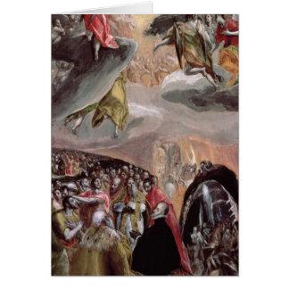 L'adoration du nom de Jésus, c.1578 Carte De Vœux