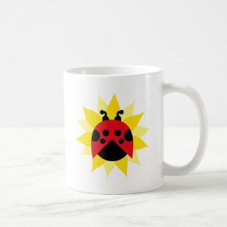 ladybug7 mug blanc