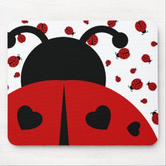 ladybugz. tapis de souris