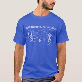 L'aérodynamique de Basset Hound T-shirt