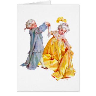 Lafayette danse le menuet cartes