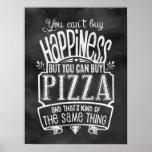 L'affiche de l'amant de pizza