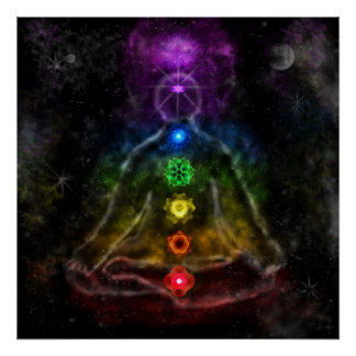 L'affiche de six Chakra