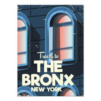 L'affiche de voyage de Bronx New York City Photographes