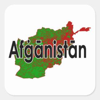 L'Afghanistan Sticker Carré
