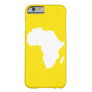 L'Afrique audacieuse jaune d'or Coque iPhone 6 Barely There
