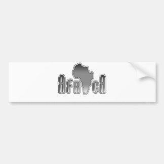 L'Afrique Autocollant De Voiture
