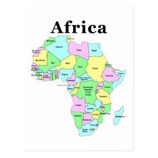 L'Afrique - carte politique