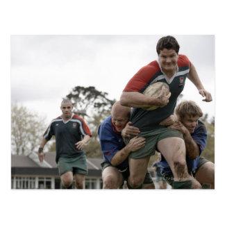 L'Afrique du Sud, Cape Town, club faux de rugby de Carte Postale