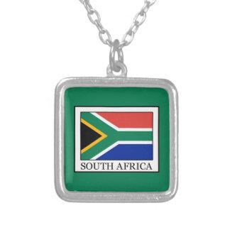 L'Afrique du Sud Pendentif Carré