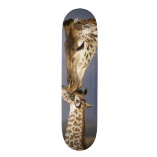 L'Afrique, Kenya, masai Mara. Girafes (girafe Skateboards Cutomisables