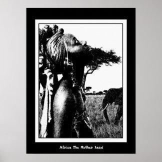 L'Afrique la terre de mère