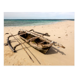 L'Afrique, Mozambique, île de Mogundula Cartes Postales