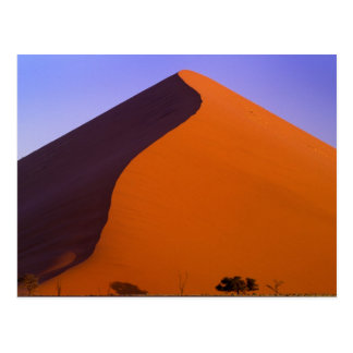 L'Afrique, Namibie, Namib NP, Sossusvlei, sable Carte Postale