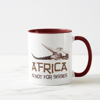 L'Afrique n'est pas pour des poules mouillées : Mug