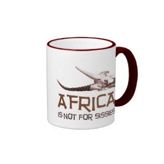 L'Afrique n'est pas pour des poules mouillées : Mug Ringer