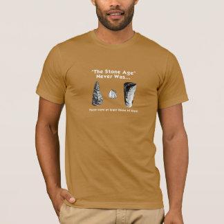 """""""L'âge de pierre"""" n'était jamais… T-shirt"""
