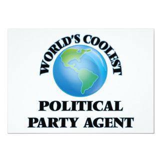 L'agent du parti politique le plus frais du monde faire-part personnalisés