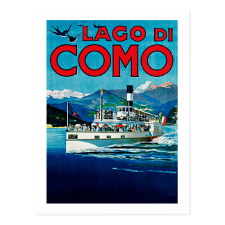 Lago di Como Carte Postale