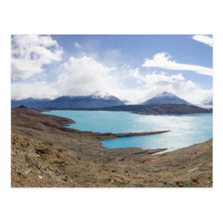 Lago Guillermo et glacier d'Upsala Carte Postale