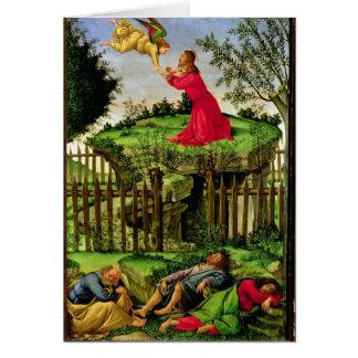 L'agonie dans le jardin, c.1500 cartes