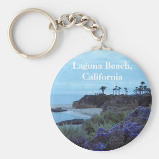 Laguna Beach la Californie Porte-clé Rond
